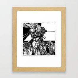 Sokushinbutsu Framed Art Print