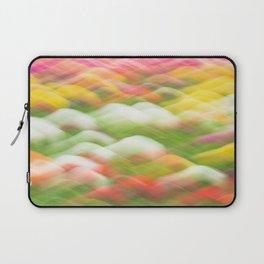 Tulip Field Abstract - Holland Michigan Laptop Sleeve