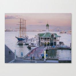 Yokohama Canvas Print