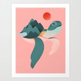 Archelon Art Print