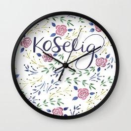 Koselig Wall Clock