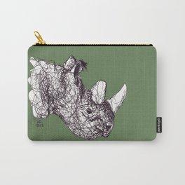 Reginald Rhinoceros Carry-All Pouch