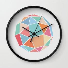 Polyhedron Wall Clock