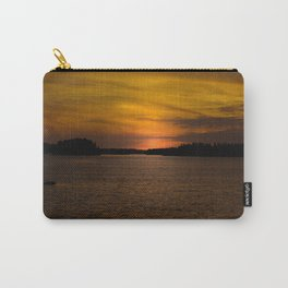The sun goes down and night falls Carry-All Pouch
