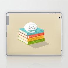 The Cat Loves Books Laptop & iPad Skin