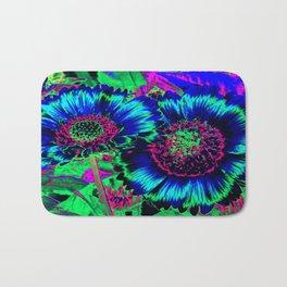 Hippie Flowers Bath Mat