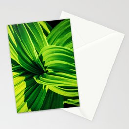 0000253 Native Hosta like Plant  at Glacier National Park 4898 Stationery Cards