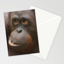 Orangutan Face Stationery Cards