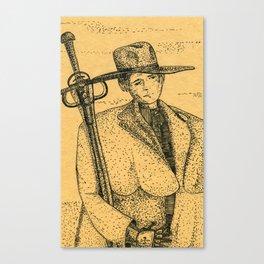 Swordsman Canvas Print