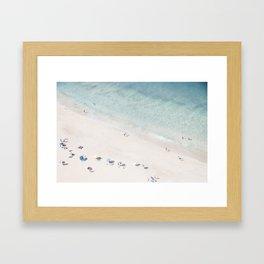 Summer Seaside Framed Art Print
