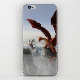 Dragon Fight iPhone Skin