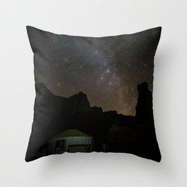 Cozy Yurt Throw Pillow