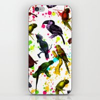 tropical iPhone & iPod Skins featuring TROPICAL by DIVIDUS