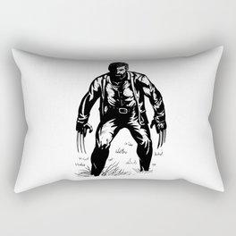 Black Oldman Logan Rectangular Pillow