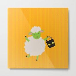 Sheep Series [SS 03] Metal Print
