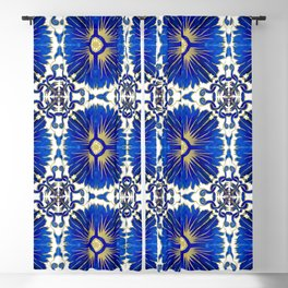 Azulejos - Portuguese Tiles Blackout Curtain