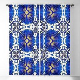 Azulejos - Portuguese Tiles Blackout Curtain