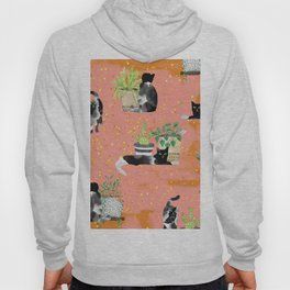 Cats & Plants #society6artprint ##cats #decor Hoody