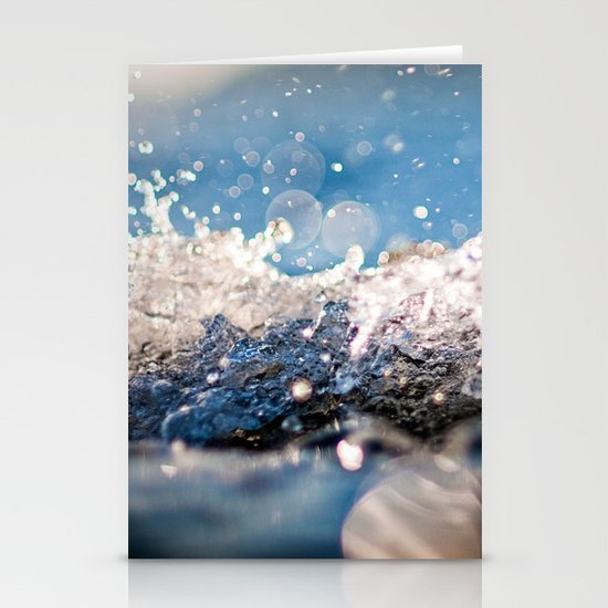 Water Splash Stationery Cards
