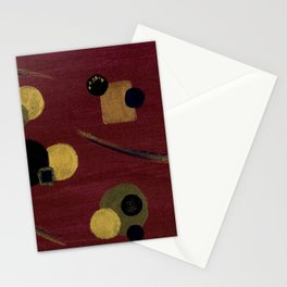 Plum Wine Stationery Cards