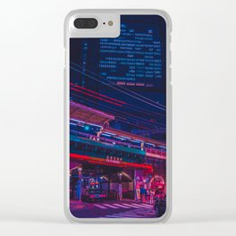 Neo Tokyo Clear iPhone Case