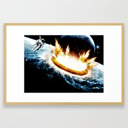 The Sole Survivor  Framed Art Print