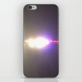 Abstracte Light Art in the Dark Version 35 iPhone Skin