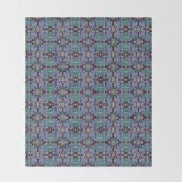 Overshot Pattern Throw Blanket