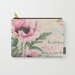 Vintage Flowers #24 Carry-All Pouch