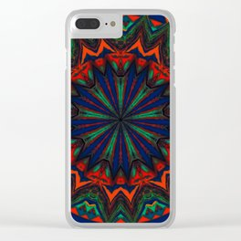 Recreational Maylanta Mandala 53 Clear iPhone Case