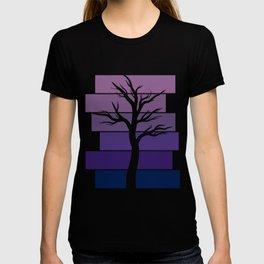 Tree Silhouette (Night Sky) T-shirt