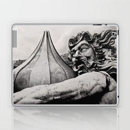 King Poseidon Ocean Mythology Greek God Sculpture New Orleans Mardi Gras Float Laptop & iPad Skin