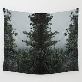 Backwoods Winter: Ponderosa Pines, Washington Wall Tapestry