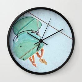 Happy Feet Wall Clock