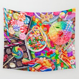 Candylicious Wall Tapestry