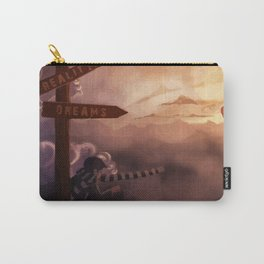 Reality and Dreams: which direction? Carry-All Pouch