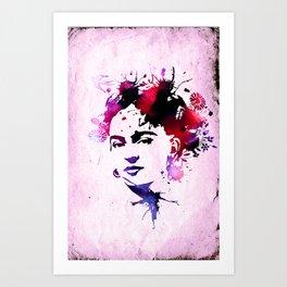 abstract frida Art Print