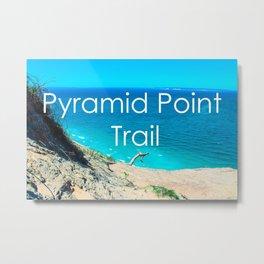Pyramid Point - Sleeping Bear Dunes National Park-Lake Michigan - Michigan Metal Print