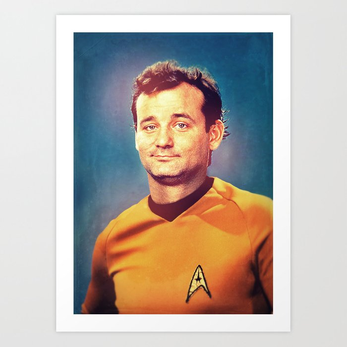 Captain Bill Art Print