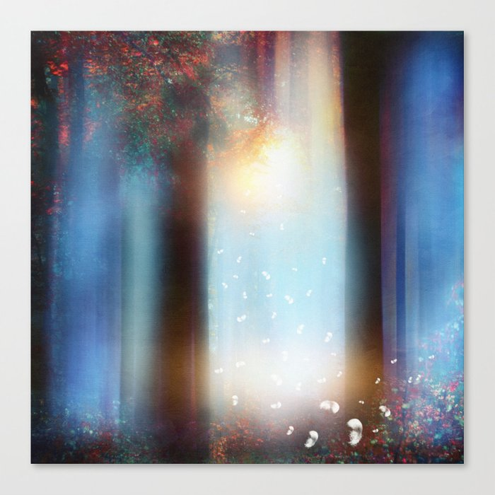 Hope in blue part II Canvas Print