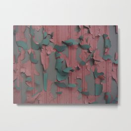 paint peel 1 Metal Print