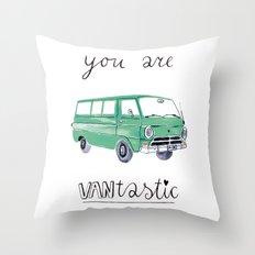 you are VANtastic by Veronique de Jong Throw Pillow