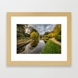 Chirk Canal Framed Art Print