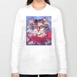 Meow's New Muffler Long Sleeve T-shirt