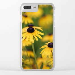 Field of Susans Clear iPhone Case
