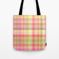 square Tote Bags featuring Square 	 by Susann Mielke