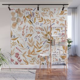 Eucalyptus in Autumn Wall Mural