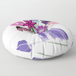 Kaitlyn's Floral Bouquet Floor Pillow