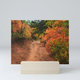Aspen on the Trail  Mini Art Print
