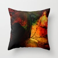 dragon age inquisition Throw Pillows featuring Inquisition by Ganech joe